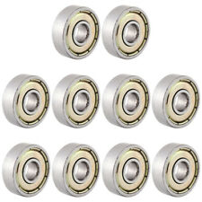 10pcs/Pack Ball Bearing Miniature Carbon Steel Outer Diameter 19mm Accessories