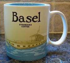 NWT Starbucks BASEL Switzerland Global Icon City Collector Series Mug with SKU