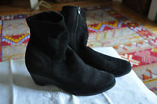 Black Arche Ankle Boots Suede 40 Euro 8.5 US