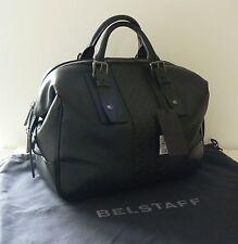 BELSTAFF BLACK LEATHER ASHLEY BAG WORK LAPTOP CASE BNWT RRP £1310