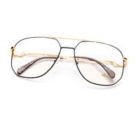 Vintage Hilton Exclusive 16 C3 Pilot Designer Eyeglasses Eyewear Optical Frame