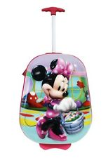 Disney Minnie Mouse 3D Soft Shell Pilot Case Travel Luggage, Pink/Purple