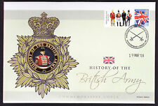 2008 Light Mounted Cavalry stamp Durham Light Infantry Medal on First Day Cover
