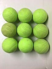 "Soft Hit Baseball Softball 12"" Foam Training Ball Batting Practice - Lot of 9"