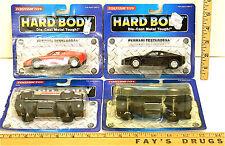 Tootsietoy Hard Body 1992 Die Cast '68 & '59 Corvette Ferrari Testarossa  NOC