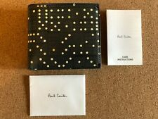Paul Smith Domino Print Leather Billfold with Coin Wallet