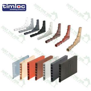 Timloc Cavity Wall Weep Vents Brick - 2 Styles Invisiweep & 1143 All Colours
