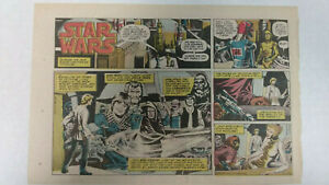 STAR WARS Newspaper Comic Strip                       Sunday September 23rd 1979