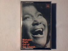 MAHALIA JACKSON Right out of the church mc cassette k7 ITALY COME NUOVA LIKE NEW