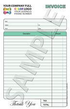 100 Color Custom Invoice / Sales Receipt / Estimate / Quote / Carbonless