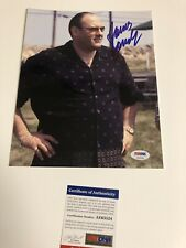 Autographed James Gandolfini 8x10 Sopranos Photo Full Signature Psa Signed