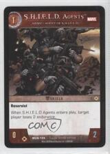 2008 VS System Marvel Universe Booster Pack Base #MUN-105 SHIELD Agents Card 0a1