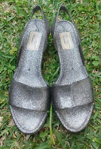 MARC by MARC JACOBS silver  Jellies Shoes Size 38 Italy