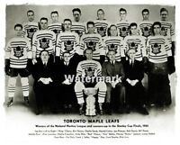 1933 NHL Toronto Maple Leafs team Photo Black & White 8 X 10 Photo  Picture