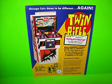 Twin Rifle Chicago Coin 1970s Vintage Gun Rifle Shooting Gallery Sales Flyer