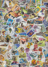 500 All Different Australian stamps collection, includes recent. Used