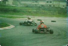 Carte Karting sport automobile go kart trading card