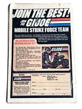 1982 G.I. Joe Mobile Strike Force Team Membership Kit Advertisement Mail Offer