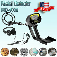Deep Sensitive Metal Detector MD-4060 Gold Hunter With Waterproof Search Coil