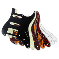 HSS 3 Ply Electric Guitar Pickguard Plate for Fender Strat Stratocaster USA MEX