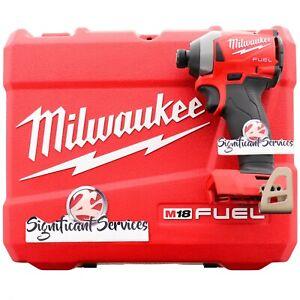 "Milwaukee 2853-20 M18 FUEL Next Gen Impact Driver 1/4"" Hex Heavy Duty Hard Case"