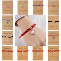 Lucky Wish Bracelet Tibetan Charm Friendship Best Friendship Bangle Jewelry Gift