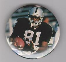 "Tim Brown NFL Hall of Fame 2015 Oakland Raiders 2 1/4"" Button #1"
