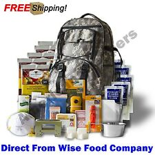 "Wise Food Company Emergency Backpacks, 5 Days Survival Supply ""Digital Camo"""
