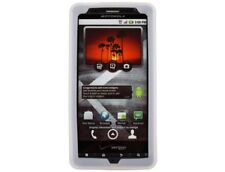Textured Silicone Case Clear For Motorola Droid X