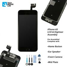 iPhone 6S Retina LCD & Digitiser Touch Screen Complete Assembly with Parts BLACK