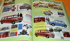 MINI 1959-2000 GREAT LITTLE CARS Catalog Collection book #0551