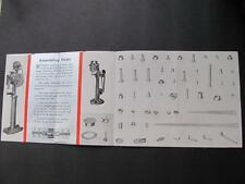 Vtg 1930s Stimpson Metal Parts For Radio & Electrical Work Brochure Illustrated