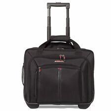 "Aerolite 17"" Ryanair Executive Cabin Luggage Business Bag Laptop Bag with Wheels"