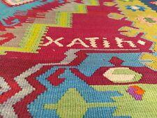 Exclusive 6'5''x12'AntiqueTribal Flat-woven Kilim from Transylvania-Romania