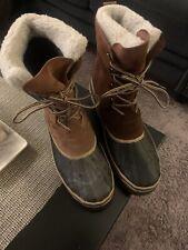 Mens Designer Size 11 Fur Coated Work/snowboots