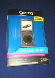 gear4 jumpsuit Shield Clear case for ipod nano 4th Gen & Lanyard UK