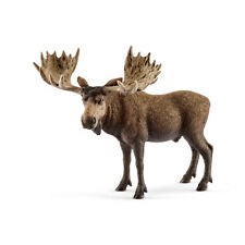 Schleich 14781 Moose Bull (World Of Nature - Wild Life) Plastic Figure