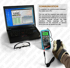 Digital automotive multimeter scanner 4-5-6-8CYL automotive electrical tester