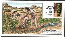 US Collins FDC SC#2426 Pre-Columbian Southwest Indian Cultures