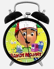 "Handy Manny Alarm Desk Clock 3.75"" Home or Office Decor E133 Nice For Gift"