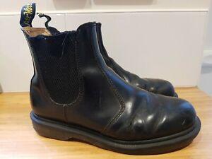 Dr Martens 2976 Chelsea Boot Dealer Black Pull On Size 4 Womens or Kids (37)