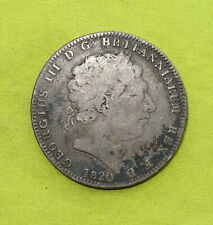 More details for 1820 crown george iii (1760-1820) silver 27.68 grams coin