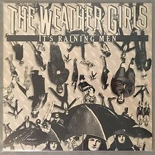 "WEATHER GIRLS - It's Raining Men - 12"" Single (Vinyl LP) Columbia 44-03181"