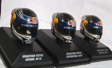 Sebastian Vettel Helm 1:8 3er Pack 2009-10