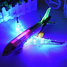 Airbus Air BusElectric Airplane Toy  Moving Flashing Lights Sounds Kid Aircraft
