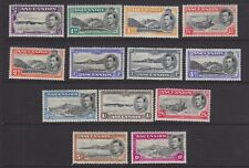 ASCENSION 1938 MINT H SC #40-9 KGVI PICTORIAL ISSUES CAT $293