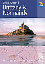Brittany and Normandy-Driving Guide-Thomas Cook-Touring-Tourist(Paperback, 2009)