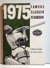 Original 1975 Louisville Slugger Famous Slugger Yearbook- 64 Pages (T-1074)