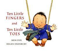 Ten Little Fingers and Ten Little Toes padded board book by Mem Fox