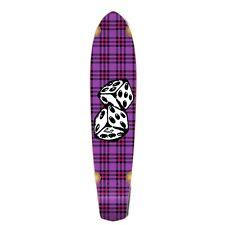 Yocaher Slimkick Longboard Deck - Dice